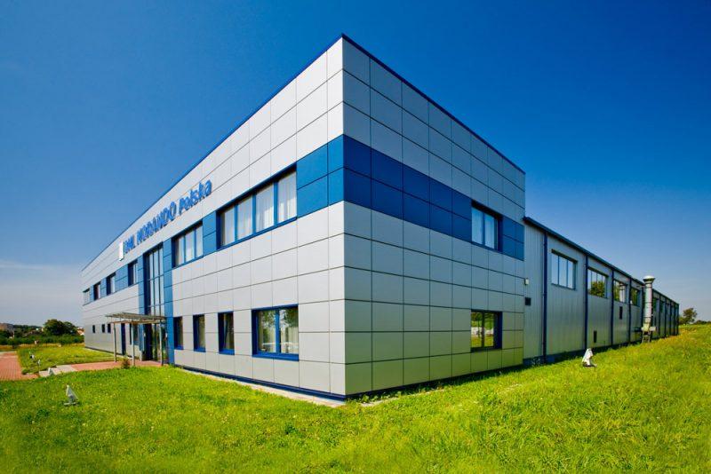 Hala produkcyjna wraz z budynkiem socjalno-biurowym