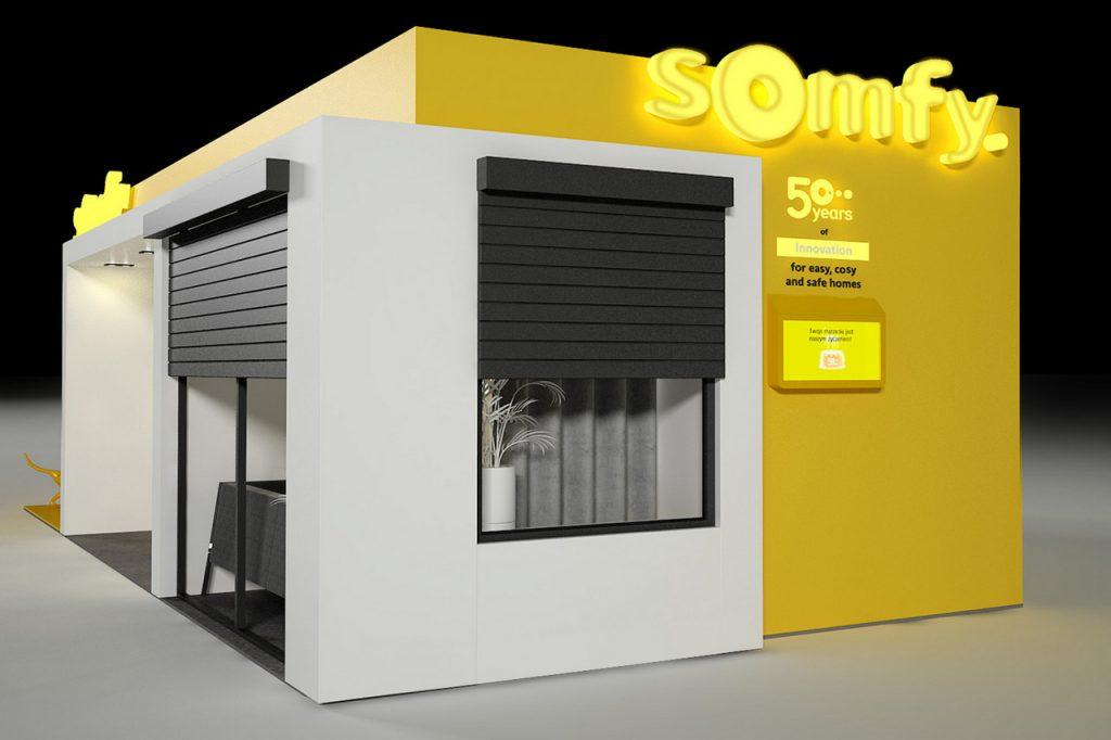 Łatwo, wygodnie i bezpiecznie w domu pokazowym Somfy na 4 Design Days